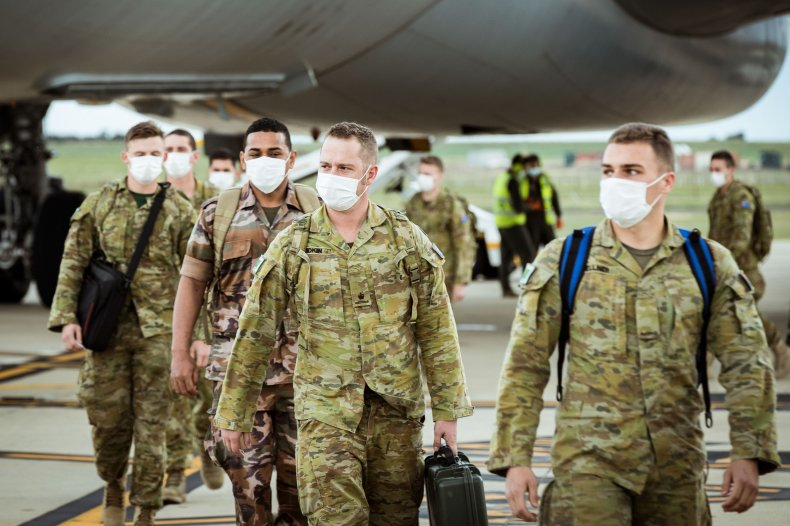 Australian Troops Deployed to Fight COVID