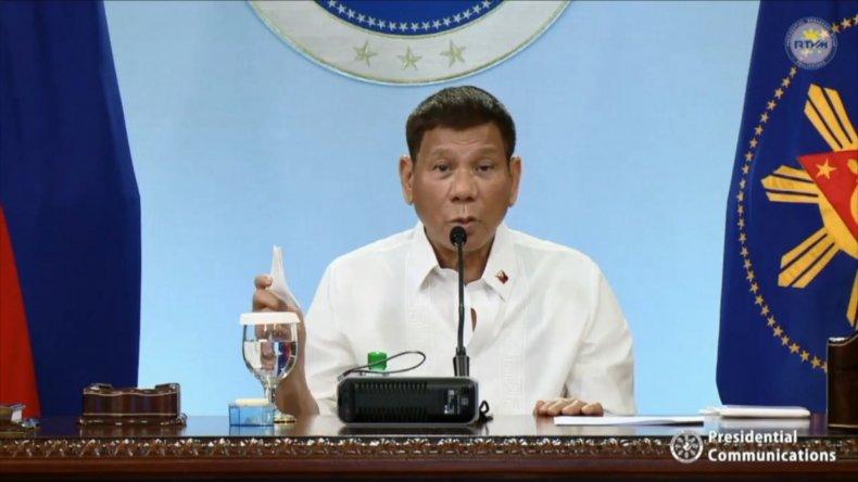 President Rodrigo Duterte Addresses Nation