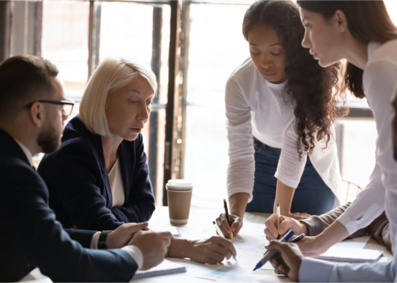 Women reach peak earnings at 44, men at 55