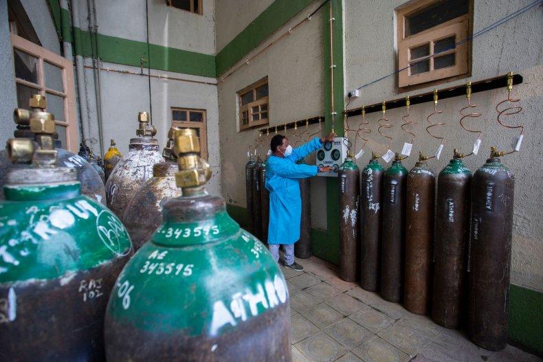 India Oxygen Supplies