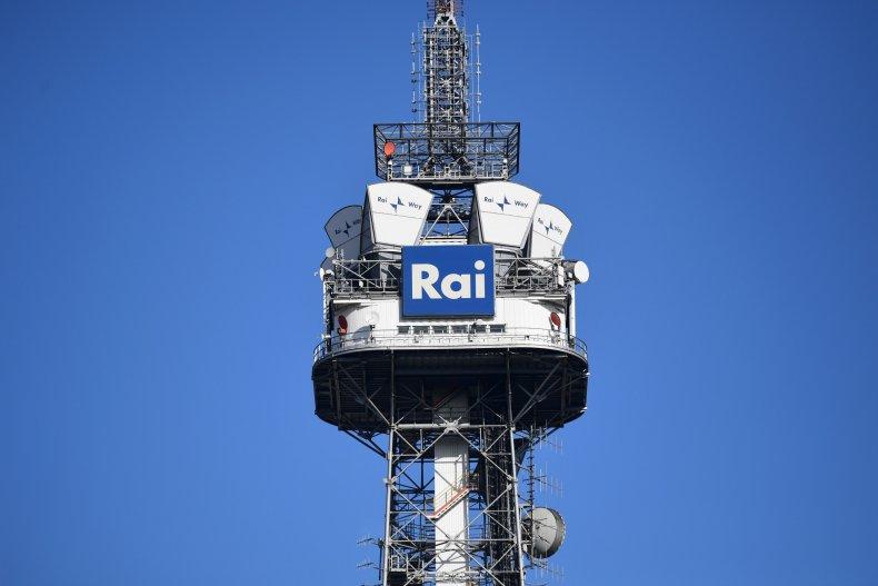 RAI's Tower In Milan