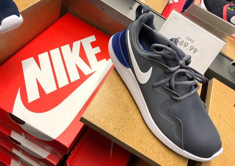 Nike shoes in San Francisco in 2018