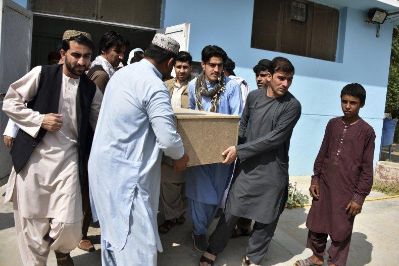 Nimat Rawan's Coffin Carried
