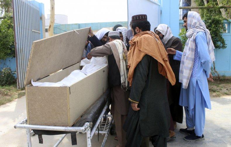 Afghans Mourn Nimat Rawan