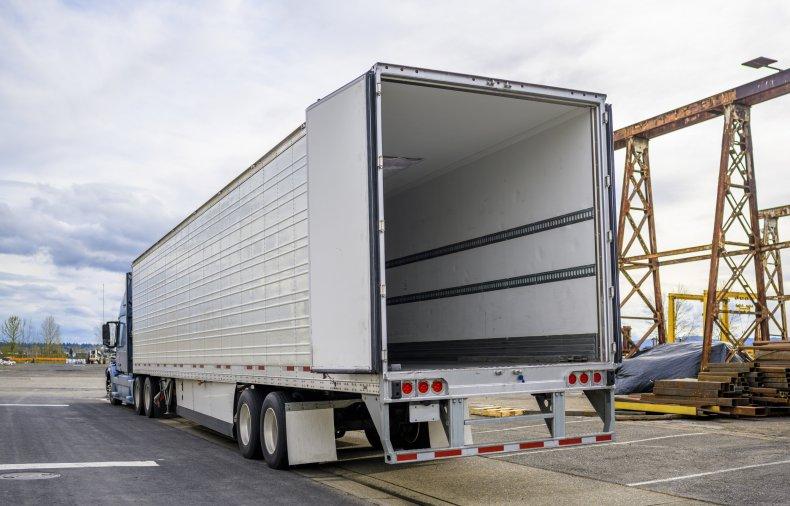 Semi-Truck Migrants San Antonio Texas Human Smuggling