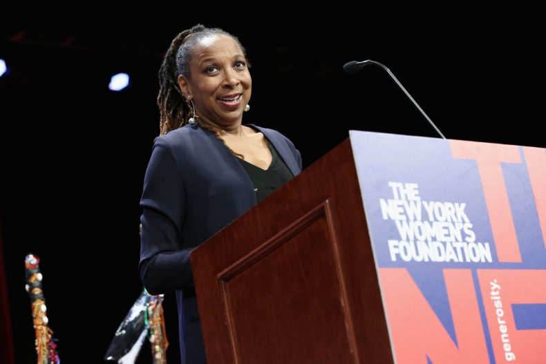 Kimberlé Crenshaw speaks at NY women's foundation