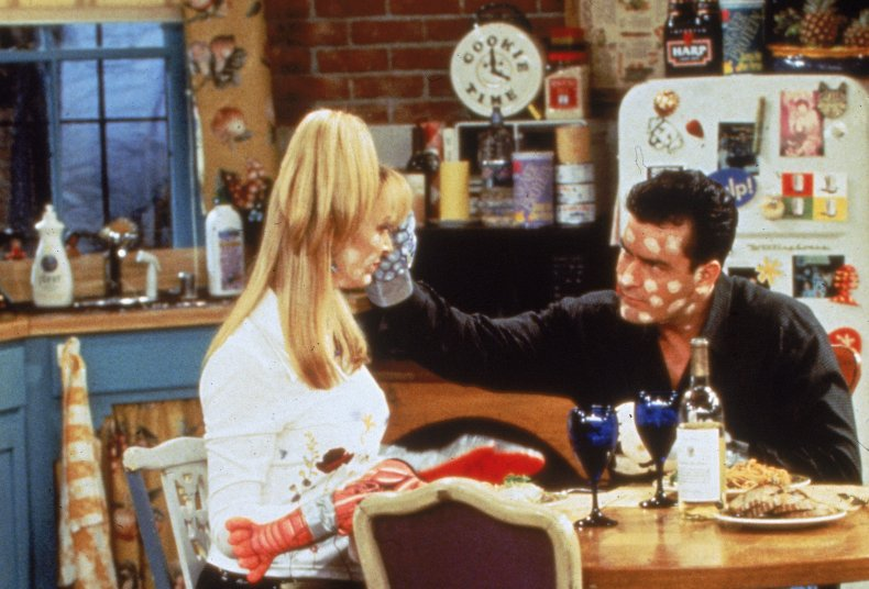 Charlie Sheen guest appearance on Friends