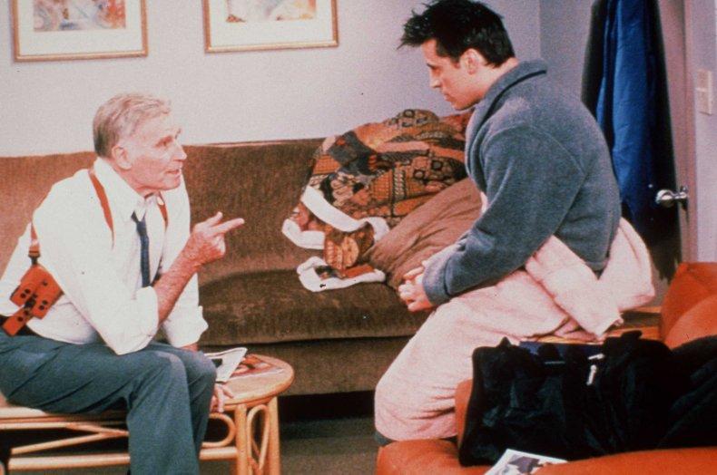 Charlton Heston on Friends