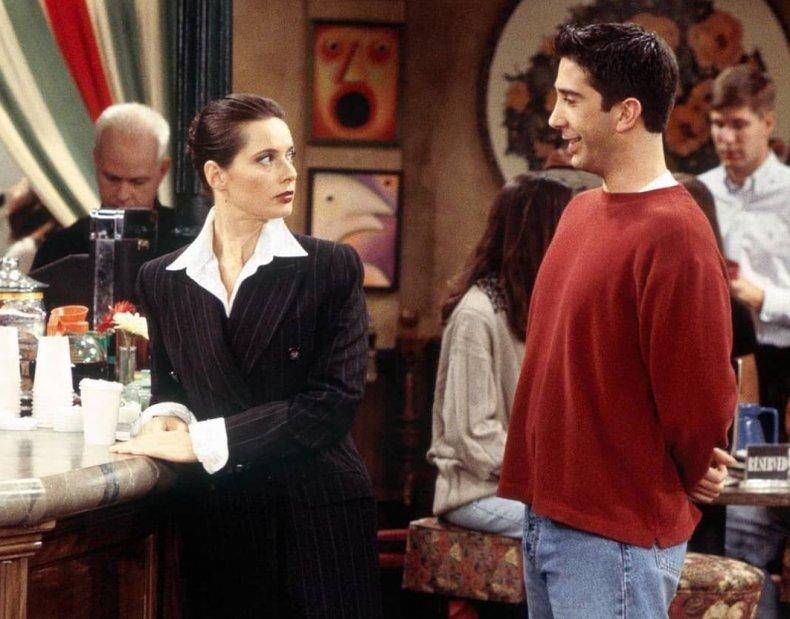 Isabella Rossellini on Friends