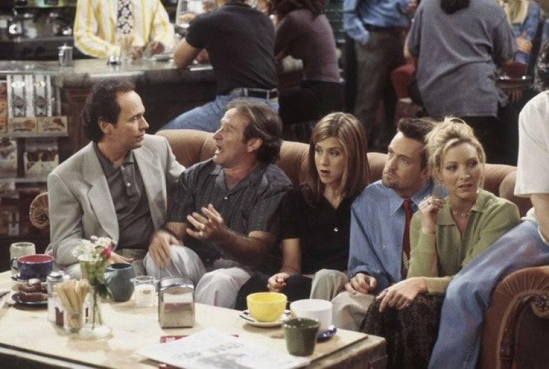 Robin Williams and Billy Crystal on Friends