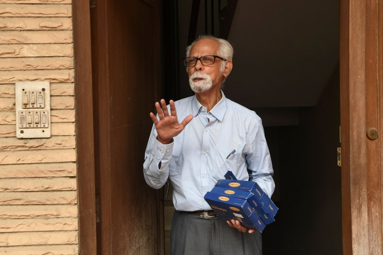 Kamala Harris Uncle India