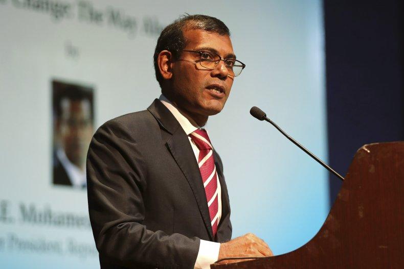 Maldives President NAsheed