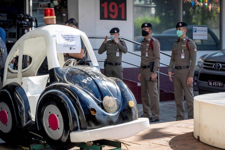 Policemen in Thailand