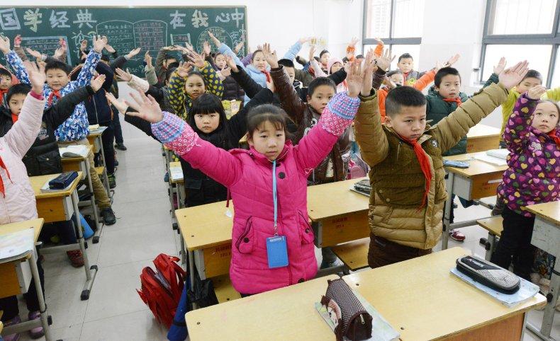 Primary school Henan province China 2015