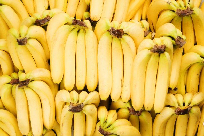 Stock image of a banana