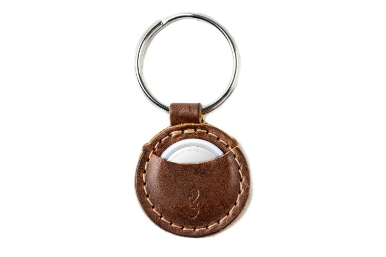 Pad & Quill Mighty AirTag keychain