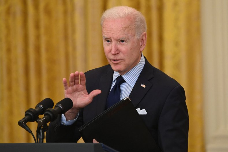 Joe Biden addresses disappointing jobs report