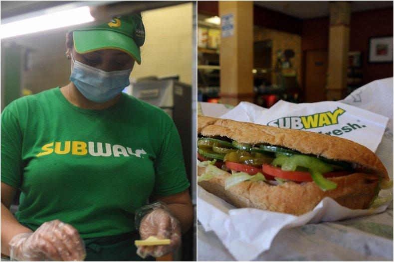 Subway sandwiches deemed 'safety hazard'