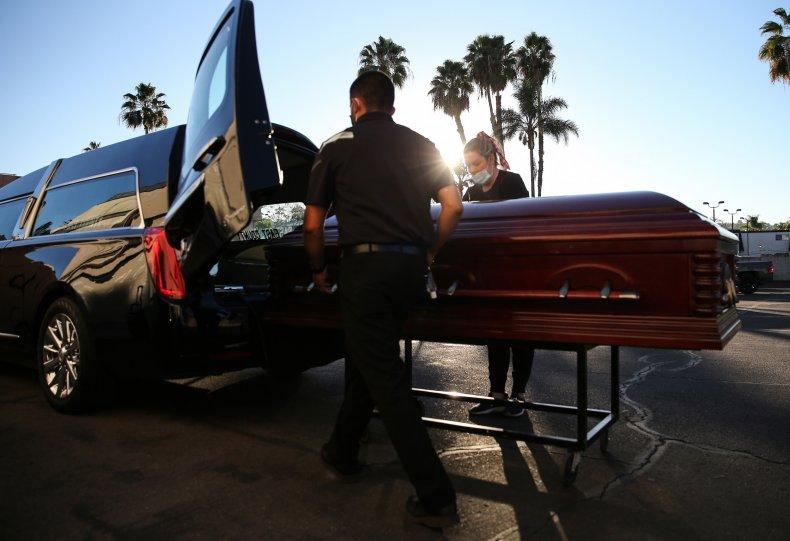 California COVID death