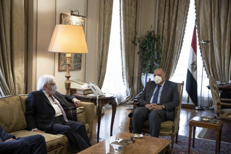 UN Special Envoy for Yemen Martin Griffiths