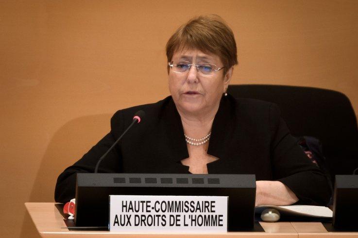 UN High Commissioner Michelle Bachelet