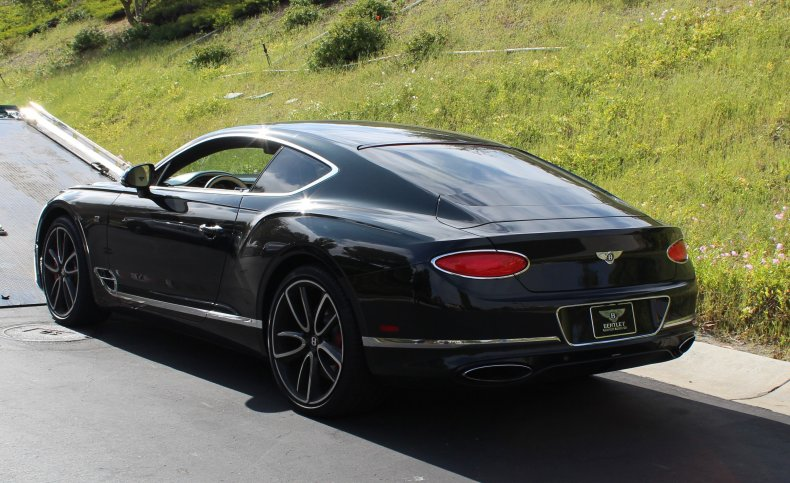 Bentley seized by federal officers