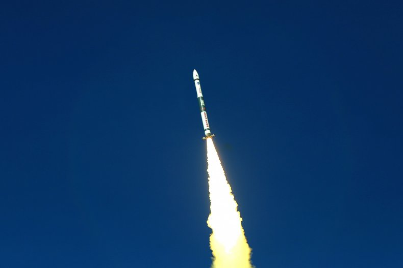 China launched the rocket last month