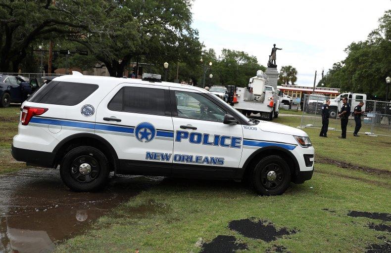 New Orleans police arrested Piggot