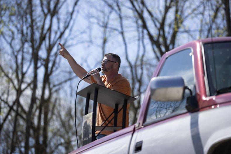 Pastor Greg Locke attacks Biden