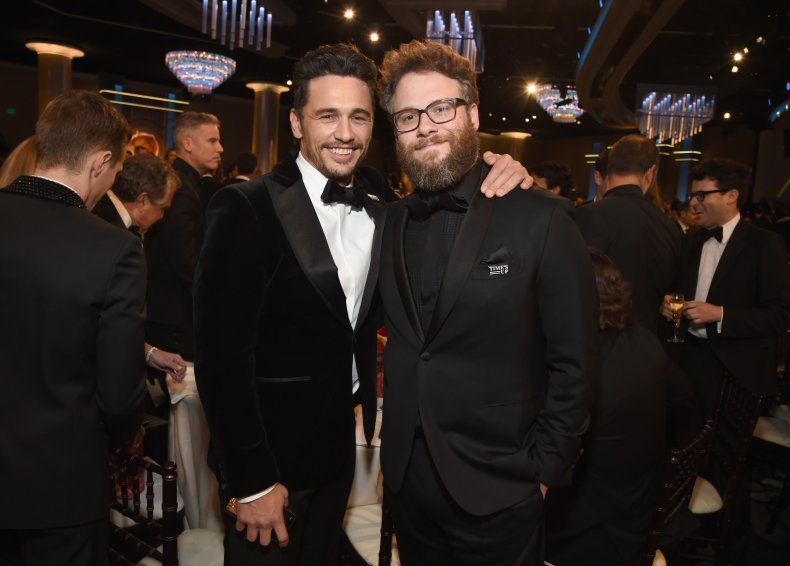 James Franco and Seth Rogen in 2018
