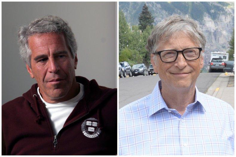 Jeffrey Epstein and Bill Gates