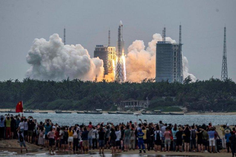 Long March 5B Rocket China
