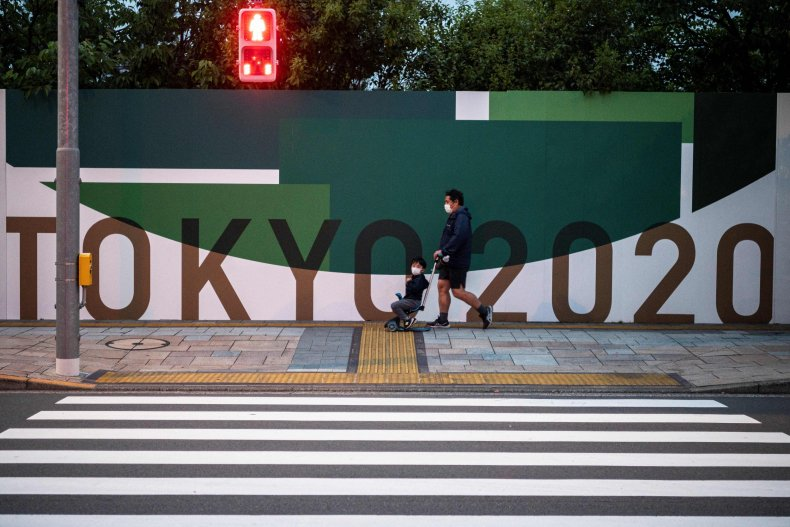 Poster for Tokyo Olympics