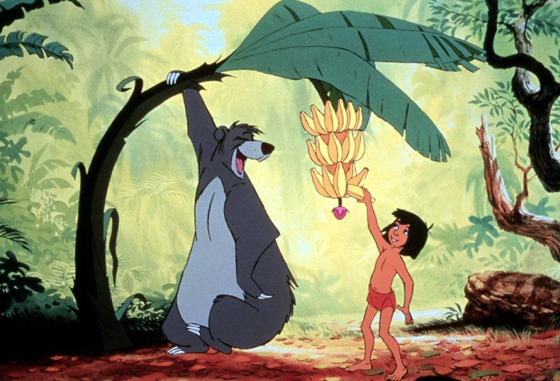 Stock image from The Jungle Book