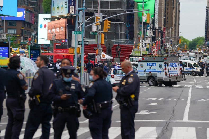 Times Square shooting suspect arrested