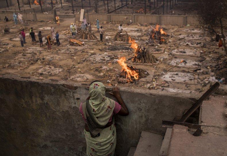 100 dead bodies drifts ashore Ganges