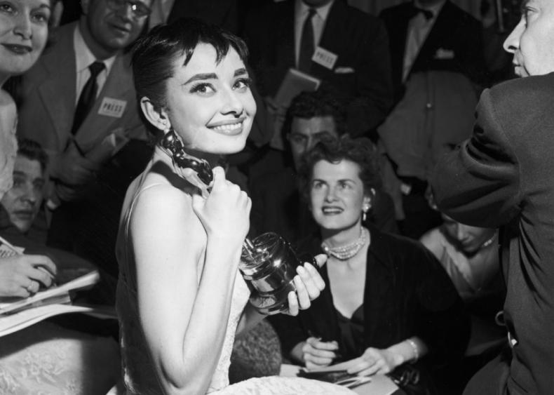 1953: A 'Roman Holiday' Oscar