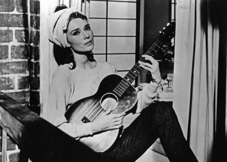 1961: Singing 'Moon River'