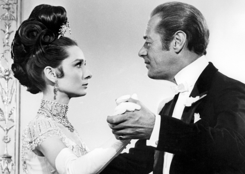 1964: Dubbed out of 'My Fair Lady'