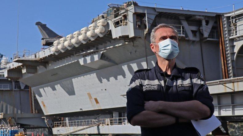Rear Admiral Marc Aussedat