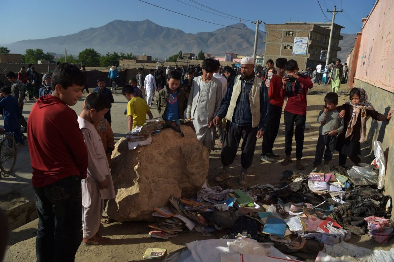 Afghanistan girls' school bombing