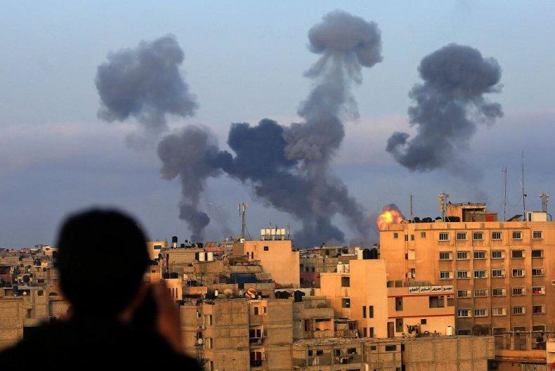 Israeli strikes on Gaza