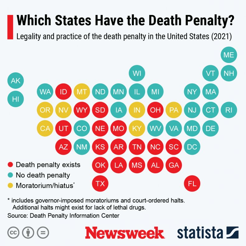 Death Penalty graphic