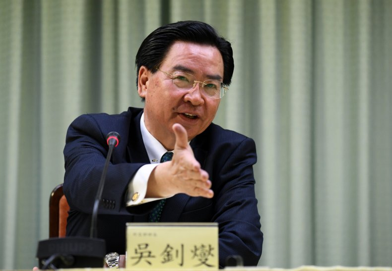 Taiwan foreign minister