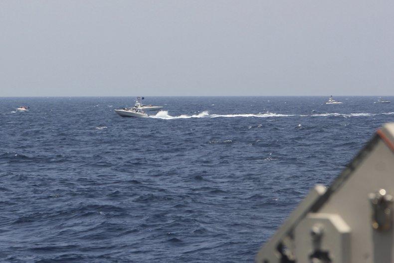 U.S. Navy and Iran Encounter