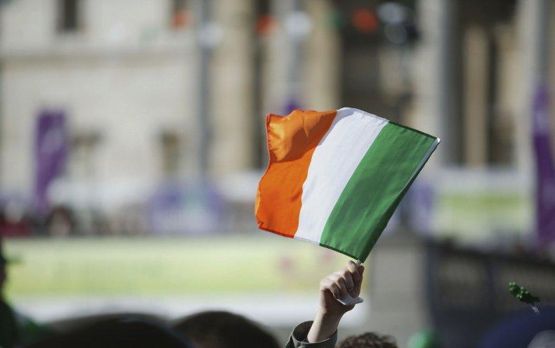 Irish Flag in 2007