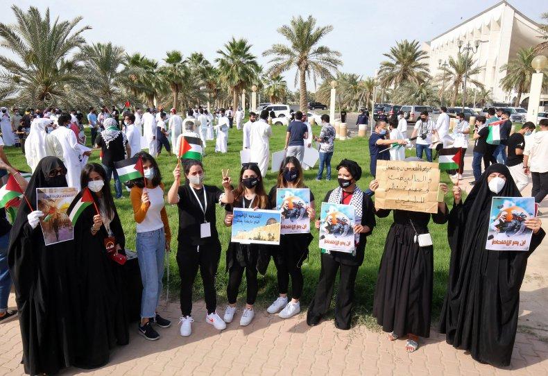 Kuwait Protest Israel