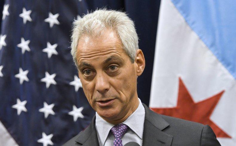 Former Chicago Mayor Rahm Emanuel