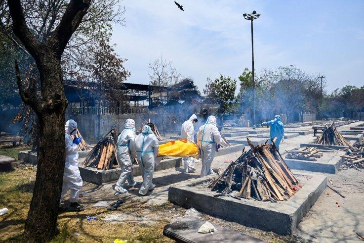 Coronavirus in India cremation