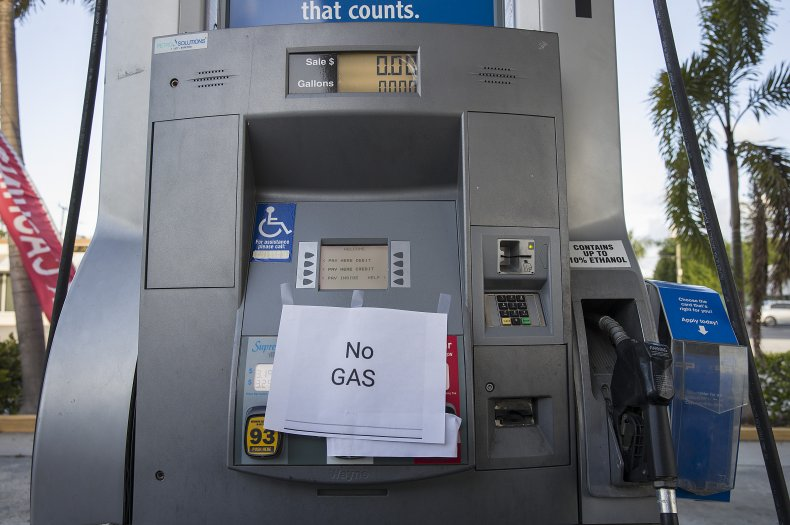 Gas shortage, panic buying
